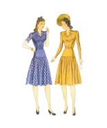 1940s Vintage Simplicity Sewing Pattern 3703 Misses Easy Fit Flared Dres... - $22.95