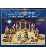 Kirkland Signature 13 Piece Hand Painted Nativity Scene Set BRAND NEW - $189.90