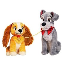 Disney Lady and the Tramp Plush Set - Valentine's Day - Small - $32.95