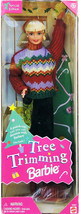 Barbie 1 X Christmas Tree Trimming Doll - Holiday Special Edition (1998) - $43.20