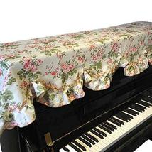 Country Style Cover Upright Piano Dust Cover Vintage Piano Cover Piano Cloth