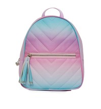 MISS GWEN 's OMG Accessories -  Chevron Ombre Dome Orchid Mini Backpack - $23.38