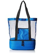 Travelwell Fashionable Beach Picnic Outdoor 12 Drinks Mesh Cooler Bag To... - $19.98