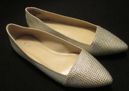 NWOT Apt. 9 Womens sz 6 M Silver Slip On Point Toe Ballet Flats, Bling! ... - $15.84