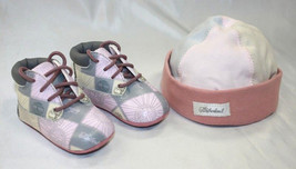 Timberland Toddler Boots & Hat Patchwork Pink Set - $33.15