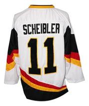 Custom Name # Team Germany Hockey Jersey New Sewn White Scheibler #11 Any Size image 2
