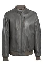 Vintage Bomber Men's Genuine Lambskin Leather Jacket Slim fit Biker  jacket-GL40