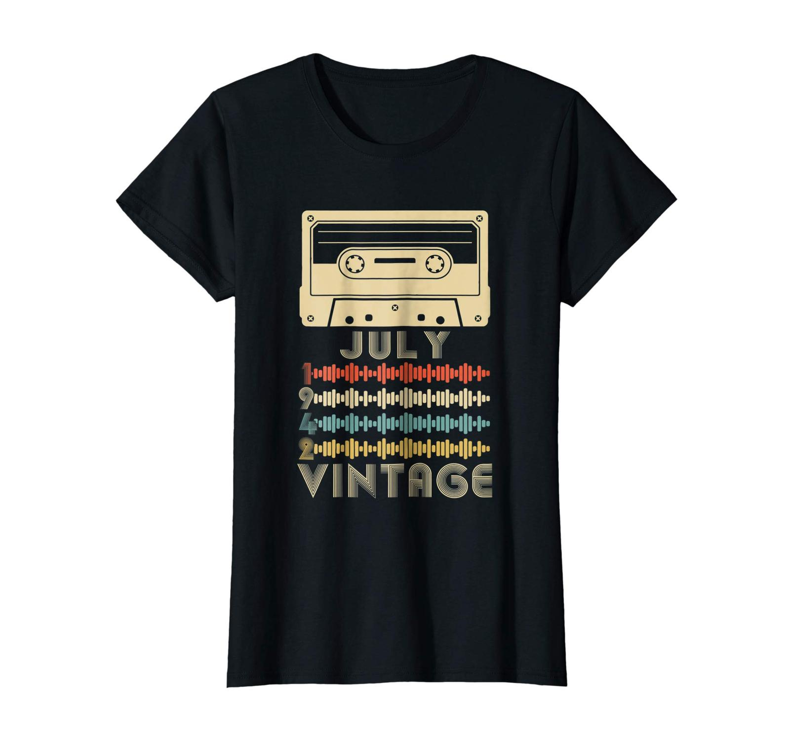 Uncle Shirts -   Vintage Retro Made In July 1942 76th Birthday Gift 76 years Wow image 3