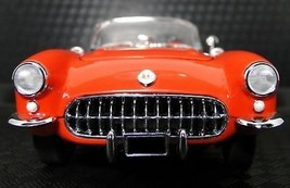 Classic Corvette 1957 57 Chevy Built 1 24 Sport Car 12 Red Model 25 1967... - $718.14
