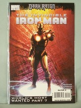 Marvel 14 Dark Reign The Invincible Iron part 7 Man Fraction Larroca D'A... - $2.53