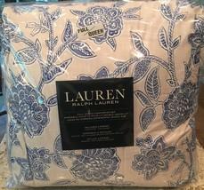 Lauren Ralph Lauren Porcelain Floral All Season Comforter Set Tamarind B... - $158.35