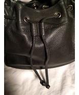 Fossil Genuine Leather Black Shoulder Purse 75082  ZB8023 VINTAGE  - $34.64