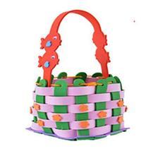 PANDA SUPERSTORE Set of 2 Lovely Kids Handcraft Toys Woven Baskets Infants Toys