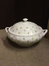WEDGWOOD Cascade Serving Casserole Dish With Lid  China ENGLAND - Flower... - $76.44