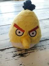 "ANGRY BIRDS Plush 6"" Yellow CHUCK Triangle Bird  - $10.89"