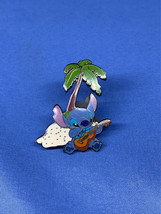 Stitch Playing the Ukulele Under a Palm TreeDisney Pin Lilo Experiment 6... - $14.99