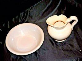 Ceramic McCoy 7516 USA Washbowl and Pitcher AA18-1344 Vintage image 9