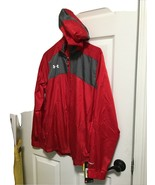 Under Armour Womens Storm Shell Jacket High Visibility Red M New - $28.04