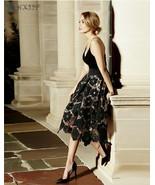 Spring Summer Gauze Peng Peng Skirt Casual  Print  Knee-Length  A-Line - $22.49