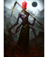 Haunted Rheten Djinn – Hamaani – Level 1 Energy Force – Fluid Flowing Em... - $400.00