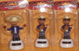 (3)Solar Powered Dancing Mariachi  Player( 3 pack) - $11.83