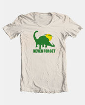 Never Forget T shirt dinosaur novelty funny vintage 100% cotton graphic tee image 3