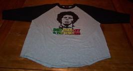 VINTAGE 70's STYLE BOB MARLEY & THE WAILERS Long Sleeve T-Shirt 2XL XXL NEW - $19.80