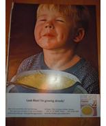 Vintage Lipton Chicken Noodle Soup Print Magazine Advertisement 1964 - $5.99