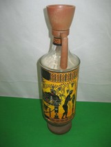 Vintage National Wine of Greece Glass Decanter Bottle - $17.72