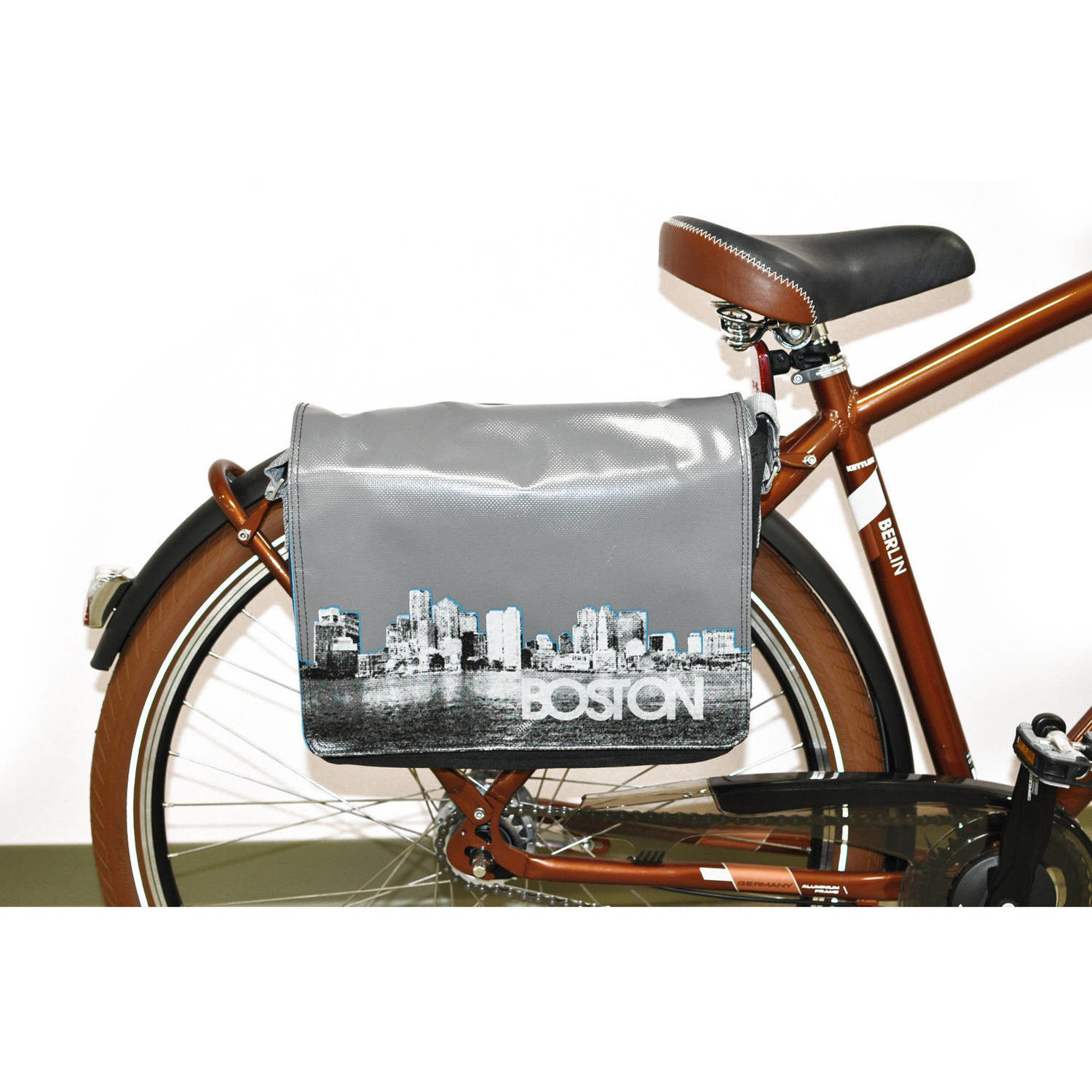 Boston Messenger Bag with Click System - $190.75