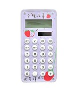 Cute Mini Calculator, Student Creative Small Fresh Calculator(Purple Str... - $16.37