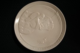 Vtg 1977 Frankoma Pottery Birth Of Eternal Life Christmas Plate By Jonie... - $11.97