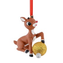 Department 56 Rudolph The Red Nose Reindeer Christmas with a  Ornament - $19.99
