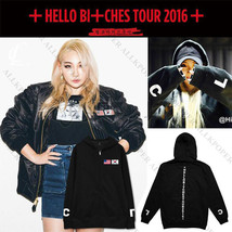 KPOP 2NE1 HELLO BITCHES Zipper Hoodie Unisex CL Sweatershirt SANDARA BOM... - $15.89