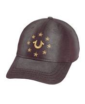 True Religion Men's Metallic Embroidered Star Logo Cap Sports Strapback Hat image 2