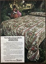 1973 Sears Roebuck & Co Sudbury Square Collection Quilted Bedspreads Pri... - $9.95