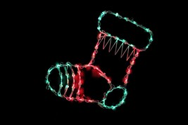 "Northlight 18"" Lighted Stocking Christmas Window Silhouette Decoration - $14.59"