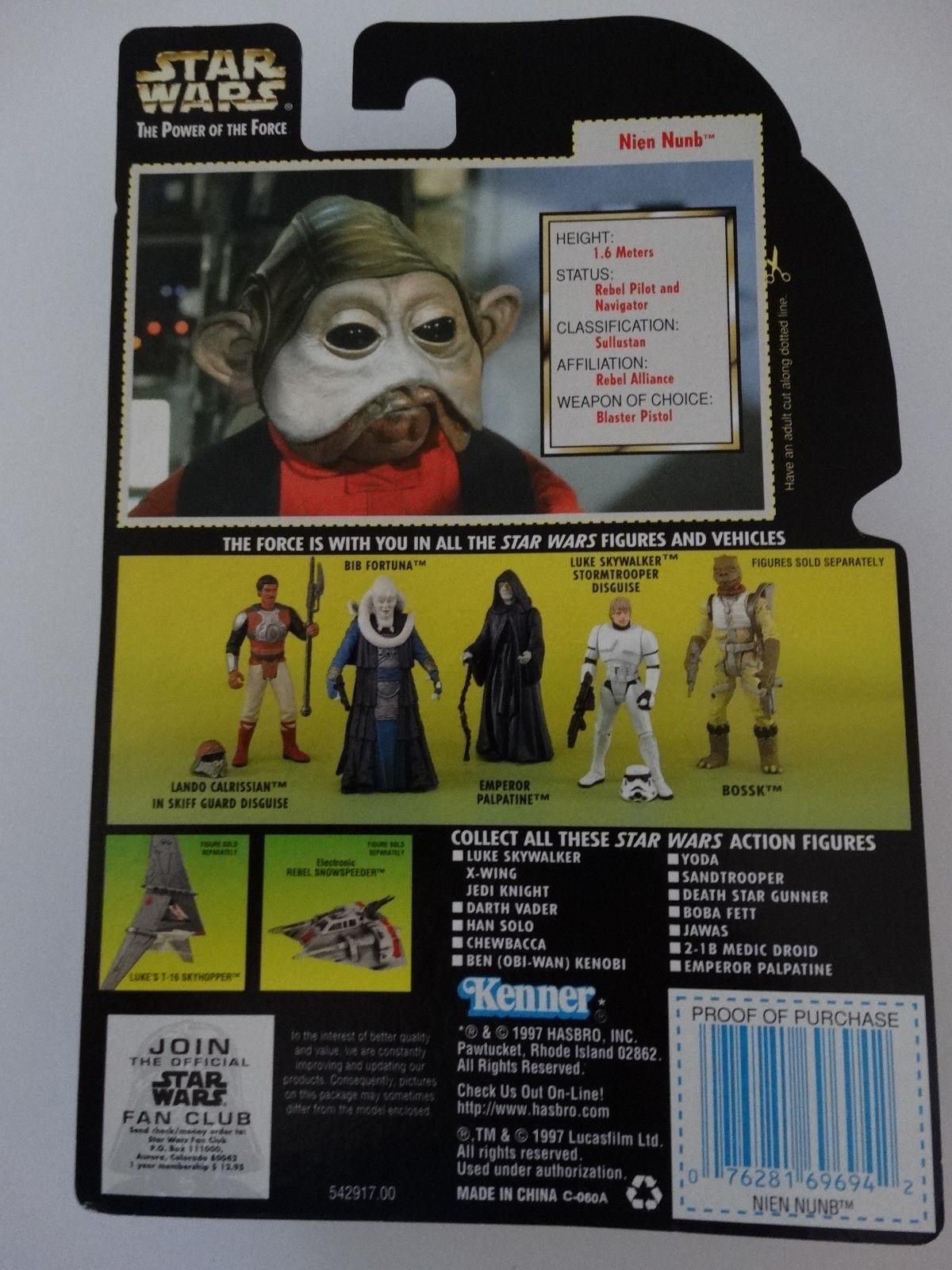 "Stormtrooper 1996 12/"" Collector Series Star Wars POTF MIB 1//6 Scale"