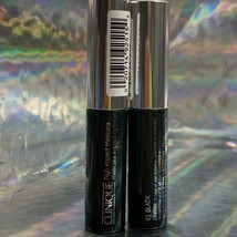 Clinique High Impact Mascara 01 Black 3.5mL *note size* Lot Of 2 image 2
