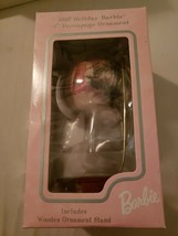"""1997 Holiday Barbie 4"""" Decoupage Ornament Never Opened - $19.80"""