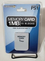 Sumoto Memory Cardfor Sony Playstation PS1 NEW Factory Sealed 1MB 15 Block - $20.56 CAD