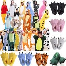 Unisex  Kids Adults Animal Kigurumi Pajamas Cosplay Sleepwear Costumes Jumpsuit - $7.99