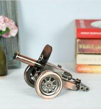 Copper and Black metal Canon Miniature Showpiece - $90.00