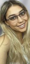 New ALAIN MIKLI AL 23020 239E  53mm Purple Women's Semi-Rimless Eyeglass... - $169.99