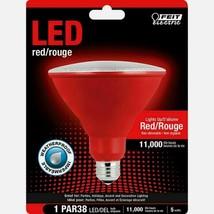 FEIT Electric RED LED Bulb PAR38 E26 Medium 120 Watt Equivalence Weatherproof - $14.59