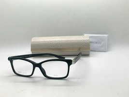 Jimmy Choo Eyeglasses Jc 225 807 Black 52-15-145MM Italy Case& Cloth - $77.85