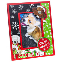 Canine Holiday 3-D Wooden Photo Frame - $14.95