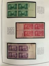 MNH 1938-1984 US Plate Block Collection Stamp Album Harris United States USA image 6