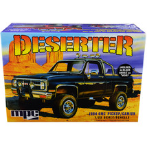 Skill 2 Model Kit 1984 GMC Pickup Truck (Molded in Black) Deserter 1/25 ... - $60.24