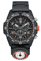 NEW Luminox 3741 Bear Grylls Survival MASTER Rubber Strap Quartz 45mm Case Watch image 1